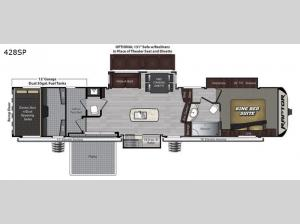 Raptor 428SP Floorplan Image
