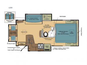 Eagle Cap 1200 Floorplan Image