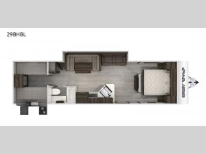 Cherokee Grey Wolf Black Label 29BHBL Floorplan Image