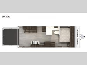 Cherokee Grey Wolf Black Label 19RRBL Floorplan Image