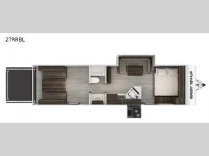 Cherokee Grey Wolf Black Label 27RRBL Floorplan Image