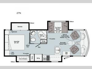 Adventurer 27N Floorplan Image