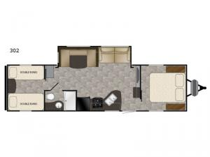 Trail Runner SLE 302 Floorplan Image