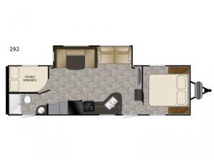Trail Runner SLE 292 Floorplan Image