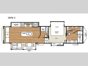 Legacy 38FB-2 Floorplan Image
