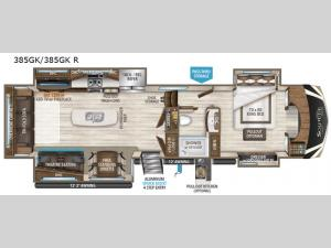 Solitude 385GK Floorplan Image
