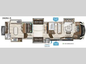 Solitude 390RK-R Floorplan Image