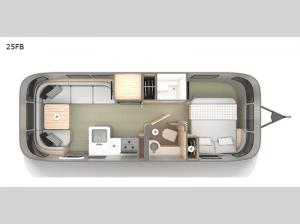 Globetrotter 25FB Floorplan Image