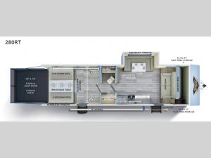 Wildwood FSX 280RT Floorplan Image