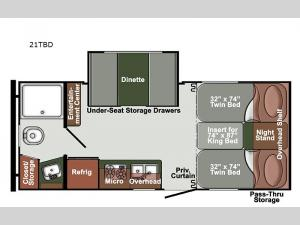 Streamlite Ultra Lite 21TBD Floorplan Image