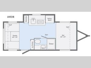 Minnie Drop 185DB Floorplan Image