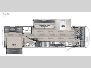Georgetown 5 Series 31L5 Floorplan Image