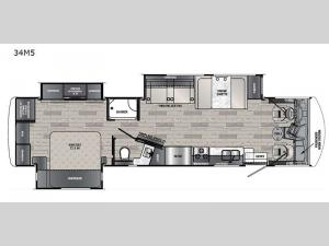 Georgetown 5 Series 34M5 Floorplan Image