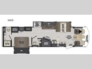 FR3 34DS Floorplan Image