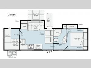 Minnie Plus 29RBH Floorplan Image