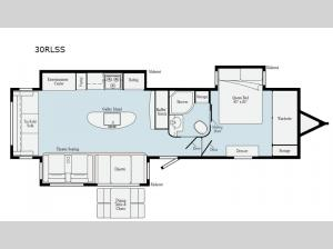 Minnie Plus 30RLSS Floorplan Image
