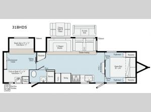 Minnie Plus 31BHDS Floorplan Image