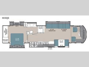 Sportscoach RD 403QS Floorplan Image