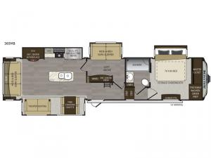Avalanche 365MB Floorplan Image