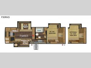 Glacier Peak Mountain Series F30RKS Floorplan Image