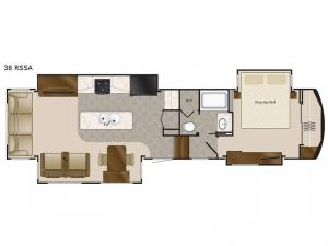 Elite Suites 38 RSSA Floorplan Image