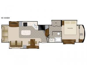 Elite Suites 40 KSSB4 Floorplan Image