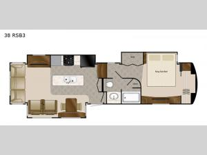 Mobile Suites 38 RSB3 Floorplan Image
