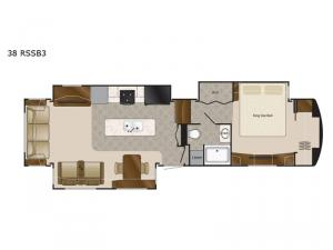 Mobile Suites 38 RSSB3 Floorplan Image