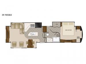Mobile Suites 39 RESB3 Floorplan Image