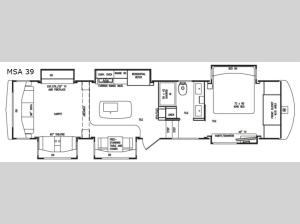 Mobile Suites Aire MSA 39 Floorplan Image