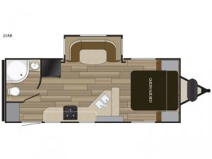 Fun Finder XTREME LITE 21RB Floorplan Image