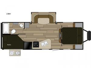 Fun Finder XTREME LITE 23BH Floorplan Image