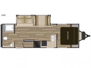 Fun Finder XTREME LITE 26RB Floorplan Image