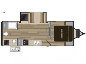 Fun Finder XTREME LITE 23SR Floorplan Image