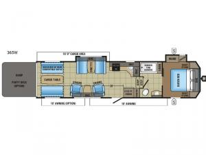 Seismic Wave 365W Floorplan Image