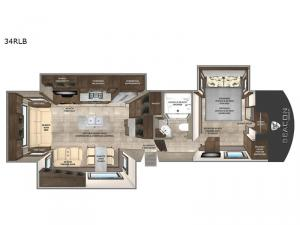 Beacon 34RLB Floorplan Image
