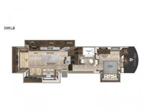 Beacon 39RLB Floorplan Image