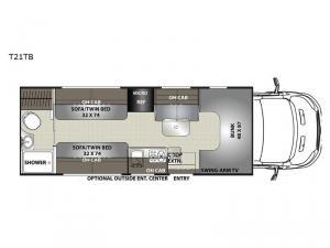 Orion T21TB Floorplan Image