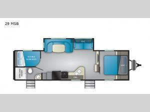 Trail Runner 29 MSB Floorplan Image