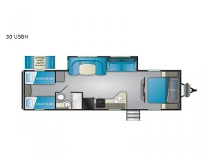 Trail Runner 30 USBH Floorplan Image