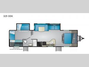 Trail Runner 325 ODK Floorplan Image