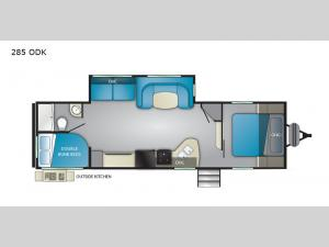Trail Runner 285 ODK Floorplan Image