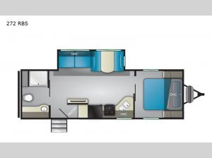 Trail Runner 272 RBS Floorplan Image