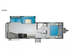 Trail Runner 28 RE Floorplan Image