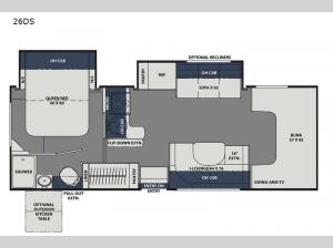 Freelander 26DS Ford 450 Floorplan Image