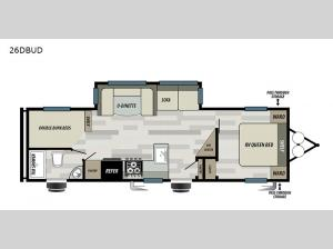 Salem 26DBUD Floorplan Image