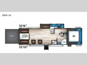 Vengeance Rogue 29KS-16 Floorplan Image