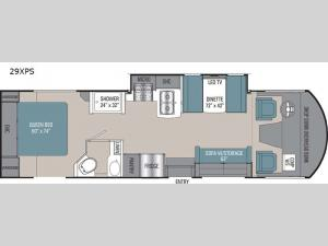 Pursuit 29XPS Floorplan Image