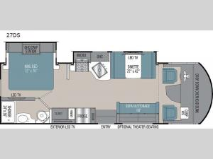 Pursuit 27DS Floorplan Image