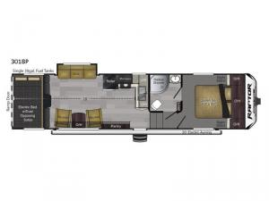Raptor Predator Series 3018 Floorplan Image